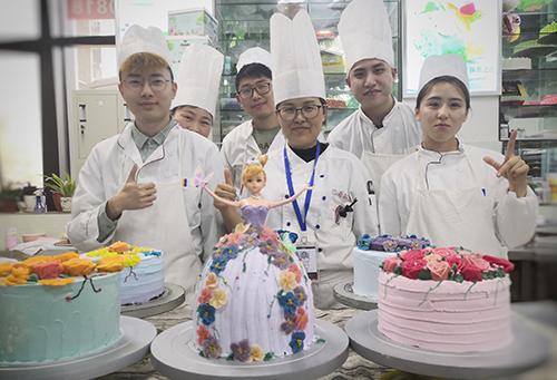巴蜀韩式裱花蛋糕比赛