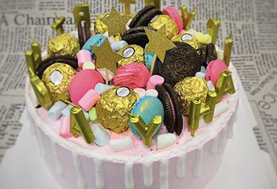 元宝奥利奥生日蛋糕培训